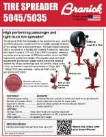 Tire Spreader 5045