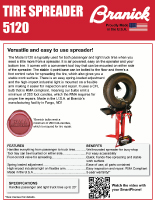 Tire Spreader 5120