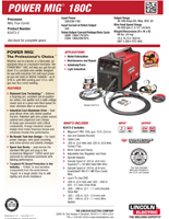 PowerMIG180CWireWelder